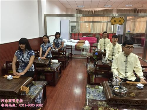 河北商贸学校茶艺展示